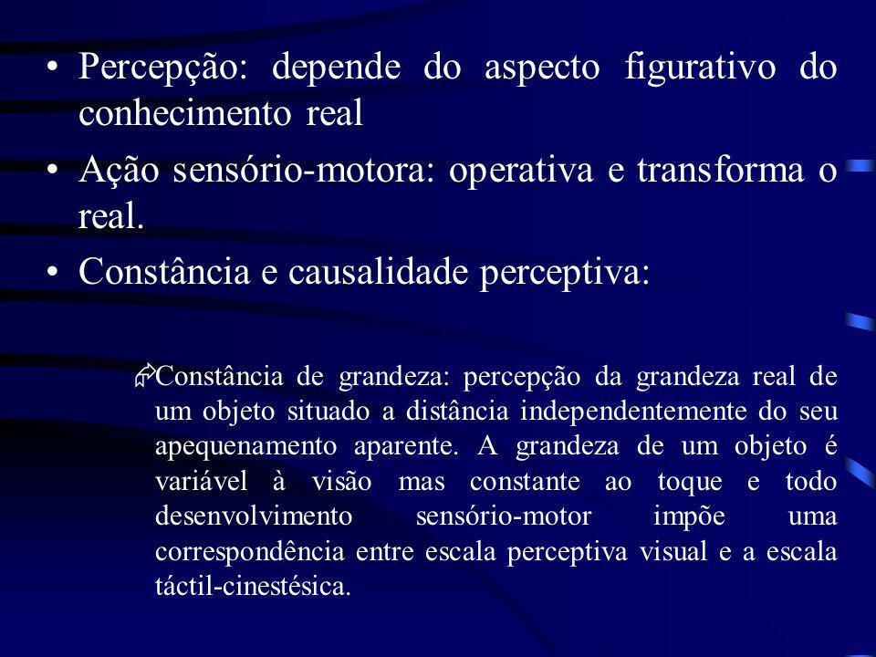 em causa nem em efeito das estruturações cognitivas, o fator essencial nas relações objetais é a relação como tal entre o sujeito e o objeto afetivo.