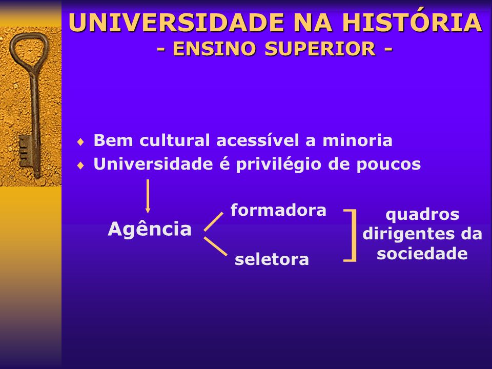UNIVERSIDADE NA HISTÓRIA Profª. Ms. Carmen Regina Dorneles Nogueira