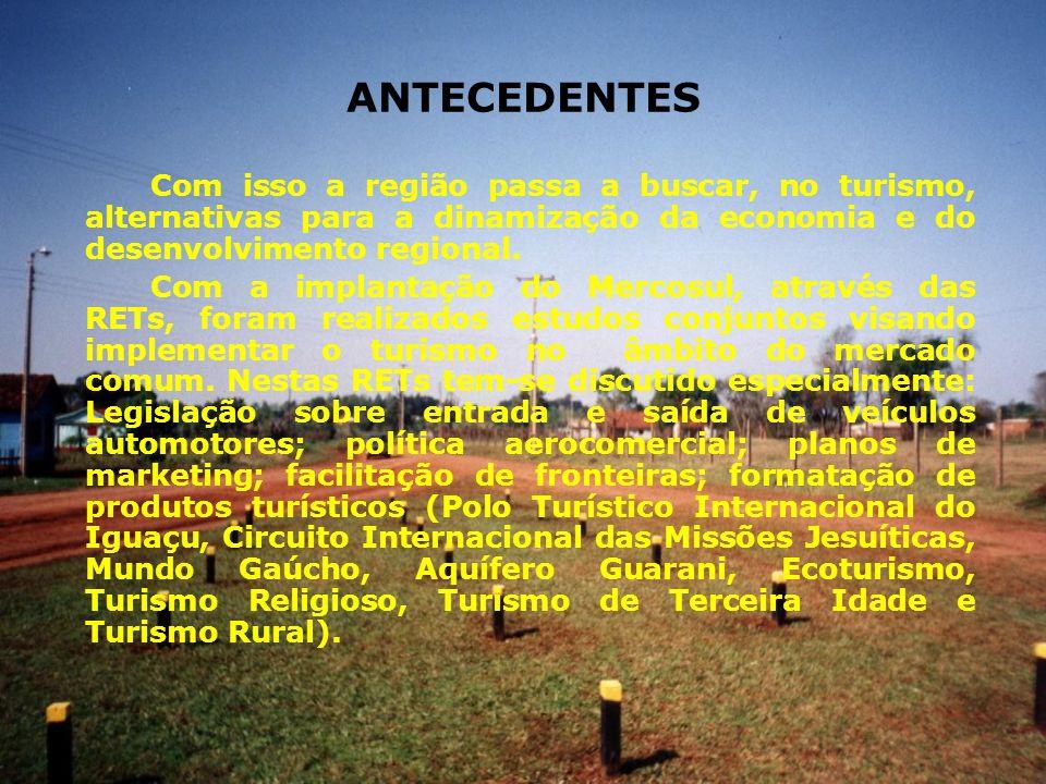 CIRCUITO INTERNACIONAL DAS MISSÕES JESUÍTICAS Lançado (1995 - Santo Ângelo, 1997 – Havana, 1998 – Recife e Londres).