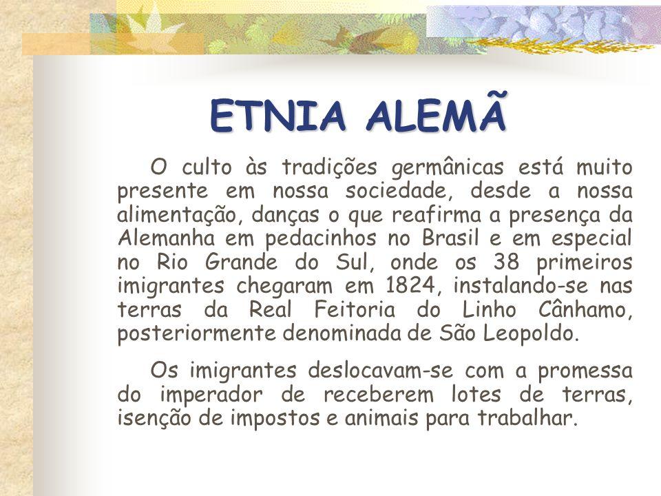 ETNIA ALEMÃ - KERB - Festa que representava a satisfação da comunidade pelo término do templo, realizava-se também a kerbmesse, que era a missa ou o culto, com o mesmo fim.