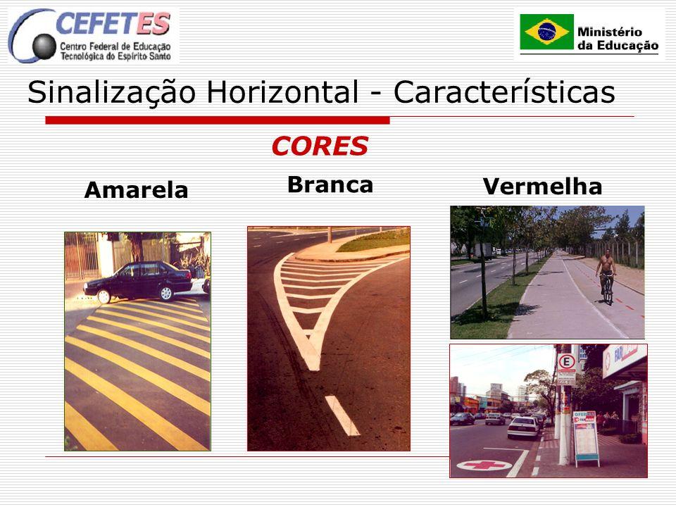 27 Sinalização Horizontal – Marcas de Delimitação Linhas de indicação de proibição de estacionamento ou parada.