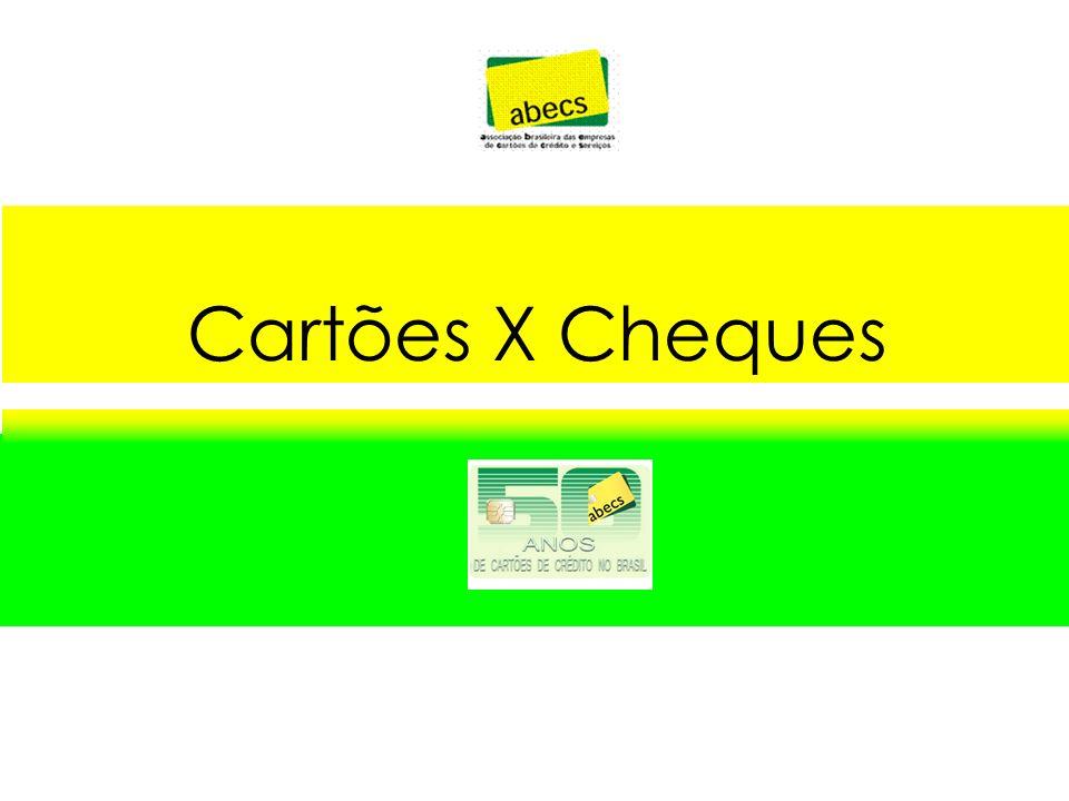 Cartões X Cheques