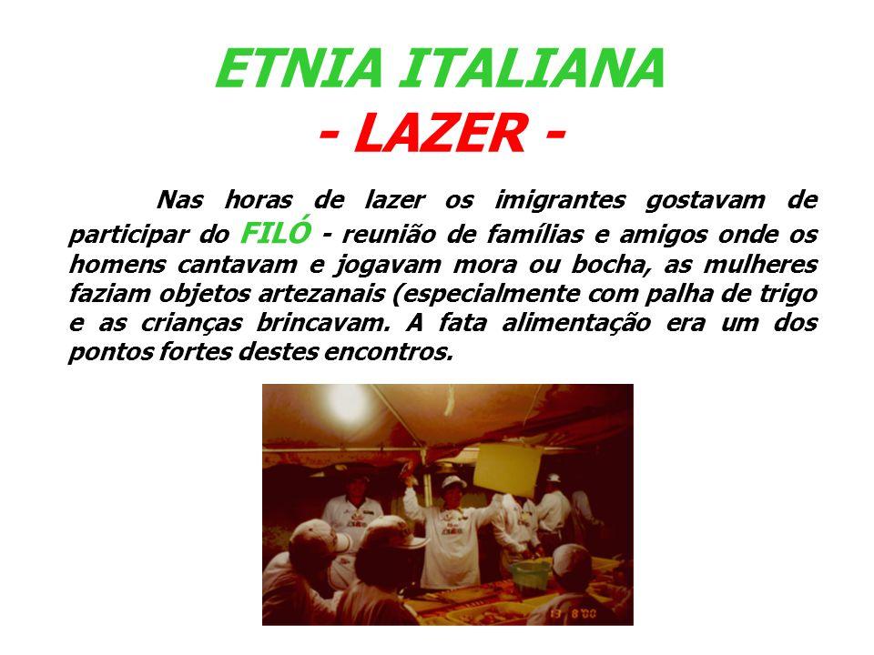 Os imigrantes italianos que vieram para o RS não falavam o mesmo dialeto.