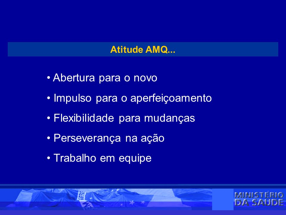 Atitude AMQ...