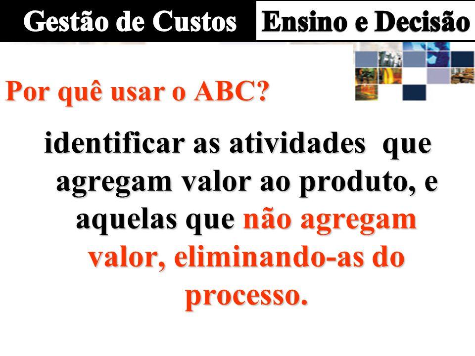 ABC - Custeio por atividades