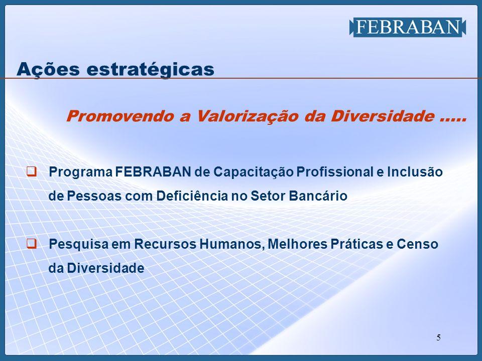 5 Programa FEBRABAN de Capacitação Profissional e Inclusão de Pessoas com Deficiência no Setor Bancário Pesquisa em Recursos Humanos, Melhores Prática