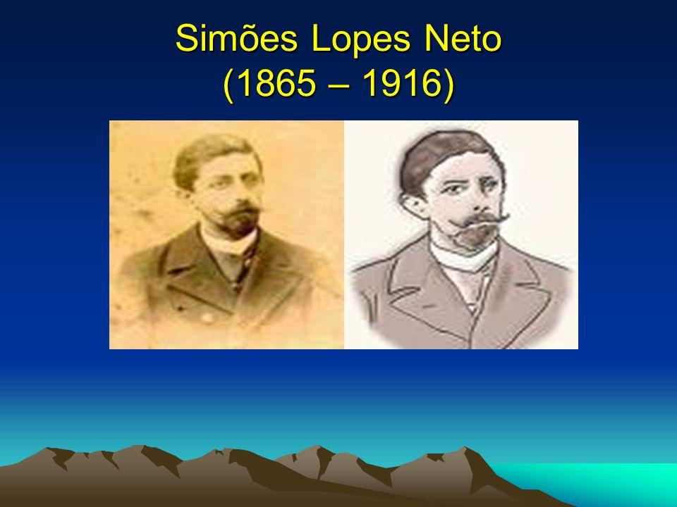 João Simões Lopes Neto João Simões Lopes Neto é o verdadeiro consolidador de uma corrente da ficção brasileira que fixa as diferentes zonas rurais do país.