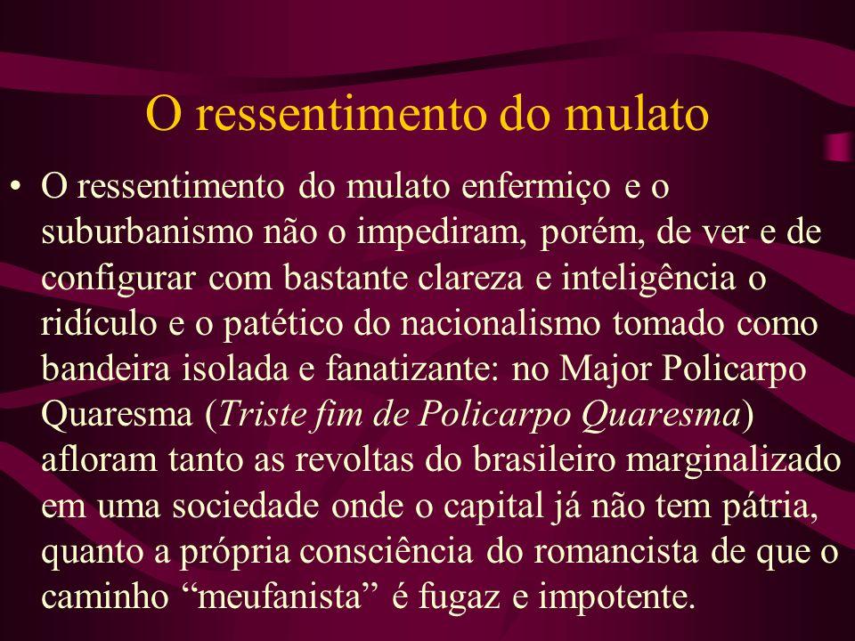 Recordações do Escrivão Isaías Caminha (1909) Nesse ponto, ocorre uma mudança no foco narrativo do romance.
