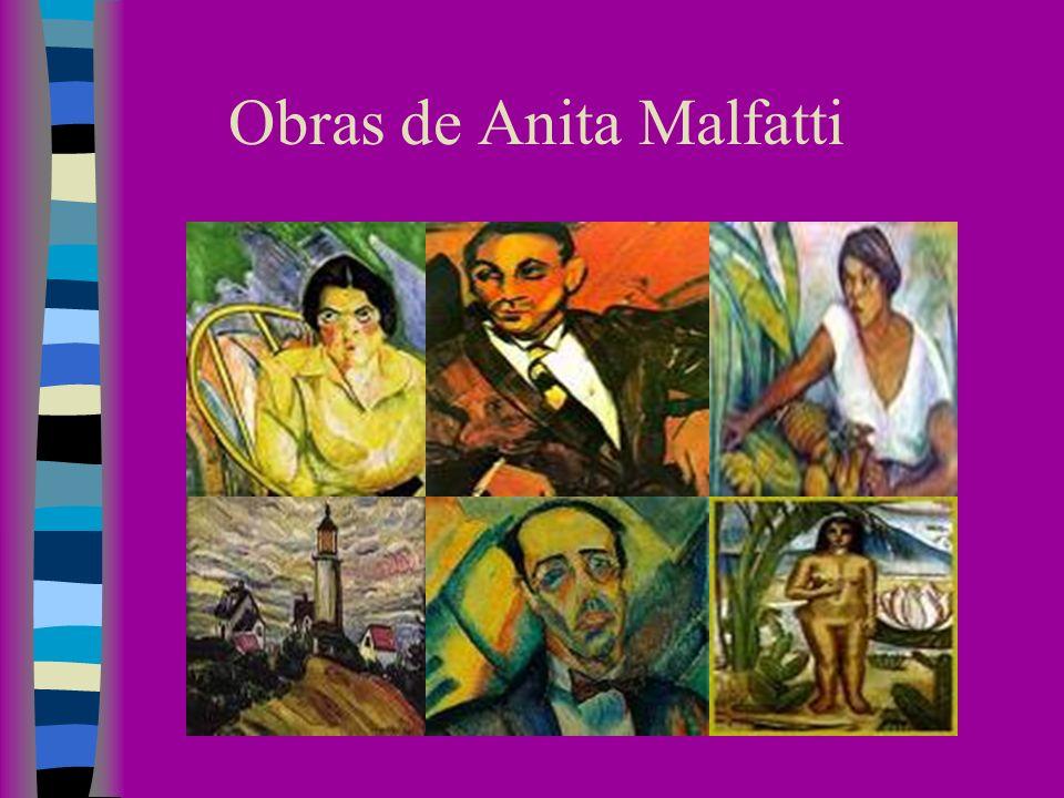 Obras de Anita Malfatti
