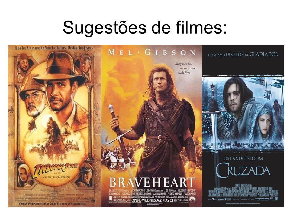 Sugestões de filmes: