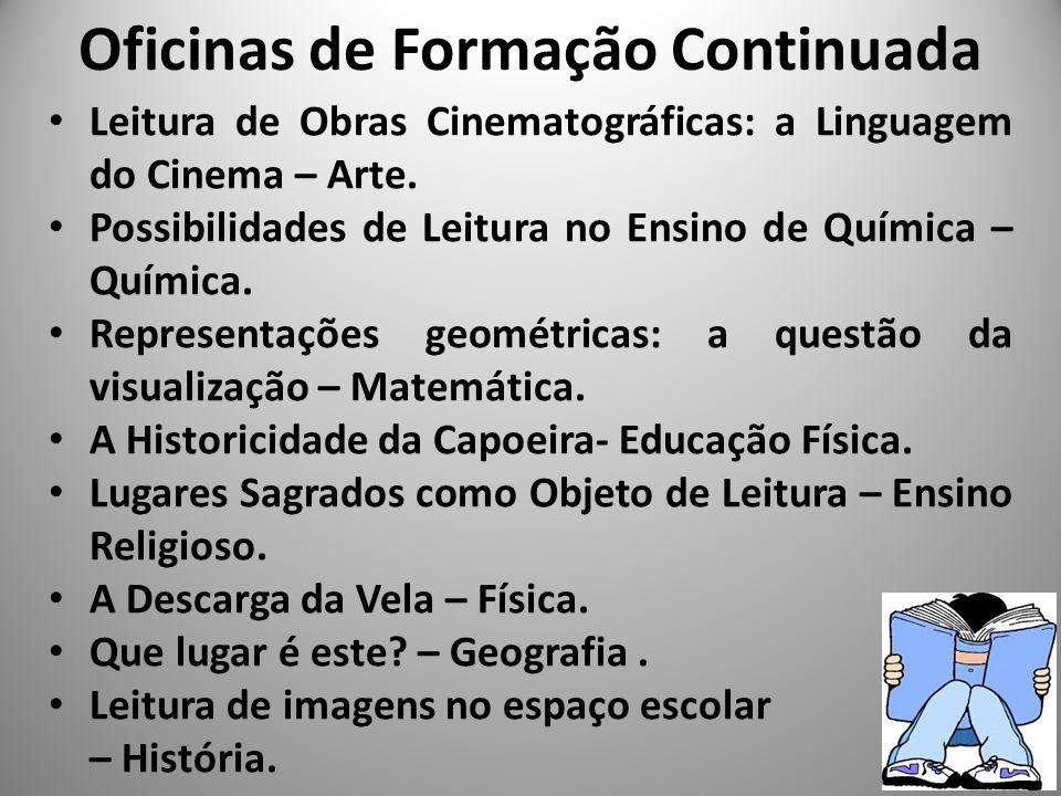 Leitura de Obras Cinematográficas: a Linguagem do Cinema – Arte. Possibilidades de Leitura no Ensino de Química – Química. Representações geométricas: