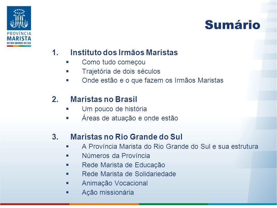 Rede Marista de Solidariedade Para atender as demandas sociais, a Rede Marista de Solidariedade reúne 35 obras localizadas em diversas cidades gaúchas.