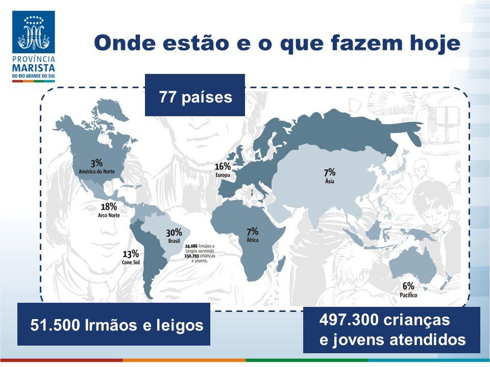 Maristas no Brasil A chegada ao Brasil se deu em 15 de outubro de 1897, no Rio de Janeiro.