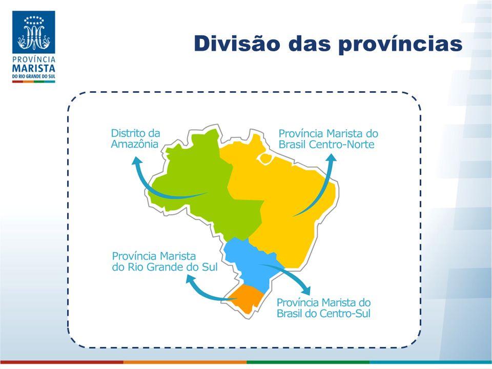Maristas no Rio Grande do Sul A Província Marista do Rio Grande do Sul foi criada em 21 de julho de 2002.