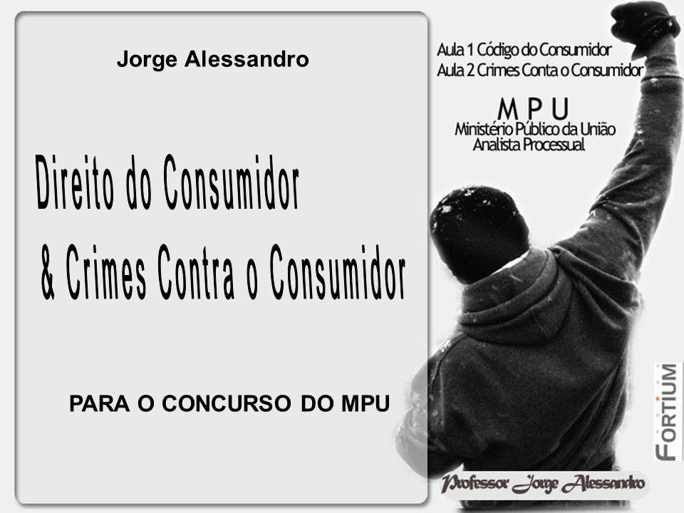 Jorge Alessandro PARA O CONCURSO DO MPU
