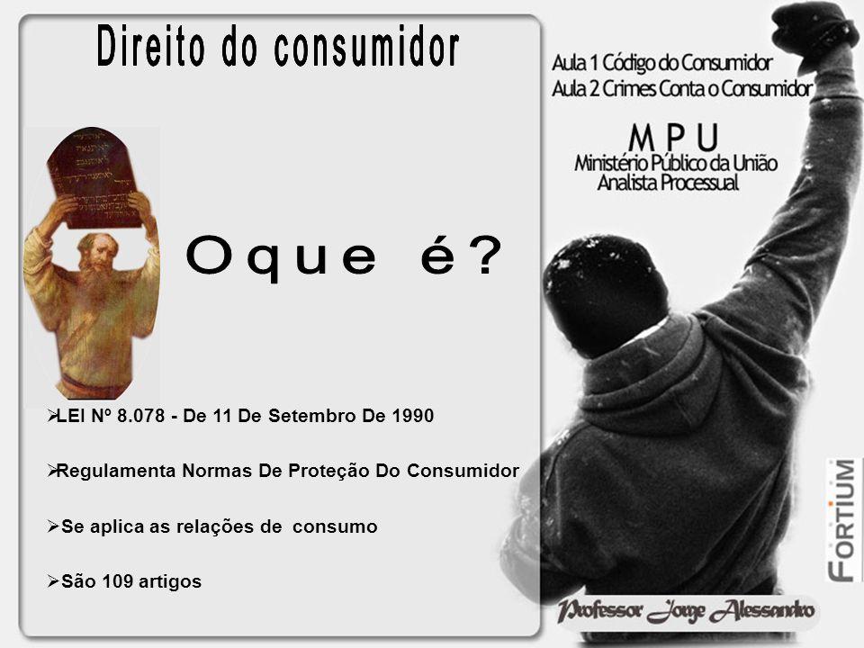 TÍTULO I Dos Direitos do Consumidor TÍTULO II Das Infrações Penais TÍTULO III Da Defesa do Consumidor em Juízo TÍTULO IV Do Sistema Nacional de Defesa do Consumidor TÍTULO V Da Convenção Coletiva de Consumo TÍTULO VI Disposições Finais