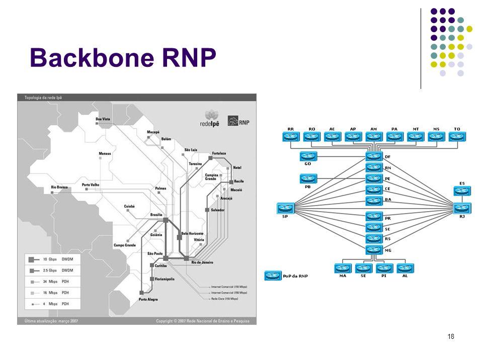 19 Protocolo Padrão TCP/IP São as regras de comunicação utilizadas na Internet, que permite a comunicação de redes distintas no mundo todo.