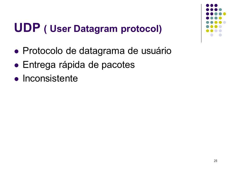 29 TELNET Protocolo que permite o acesso remoto