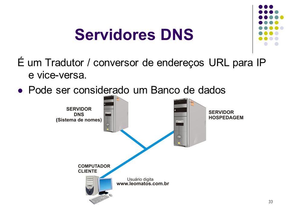 34 Serviços que utilizam a Internet WWW ( World Wide Web ) Serviço de navegação em páginas.