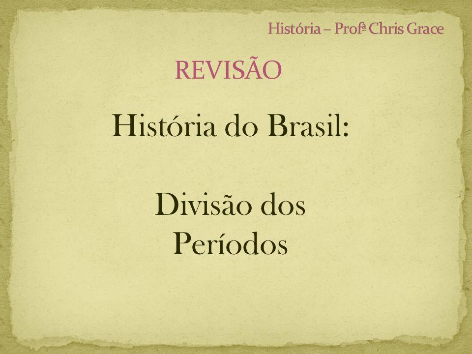 REVISÃO História do Brasil: Divisão dos Períodos