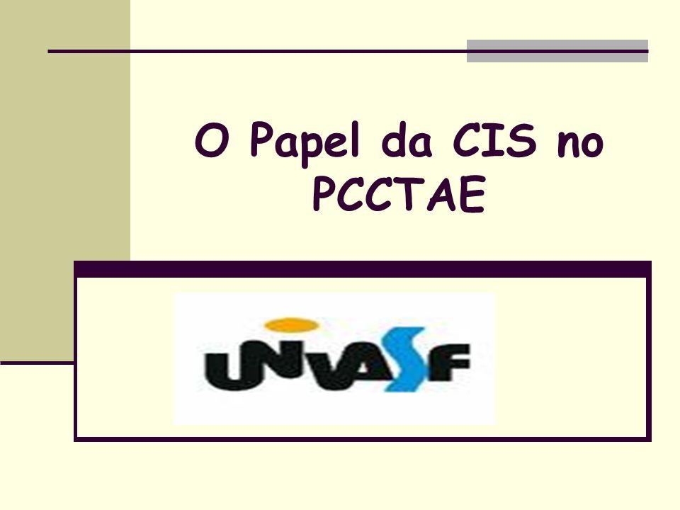 O Papel da CIS no PCCTAE