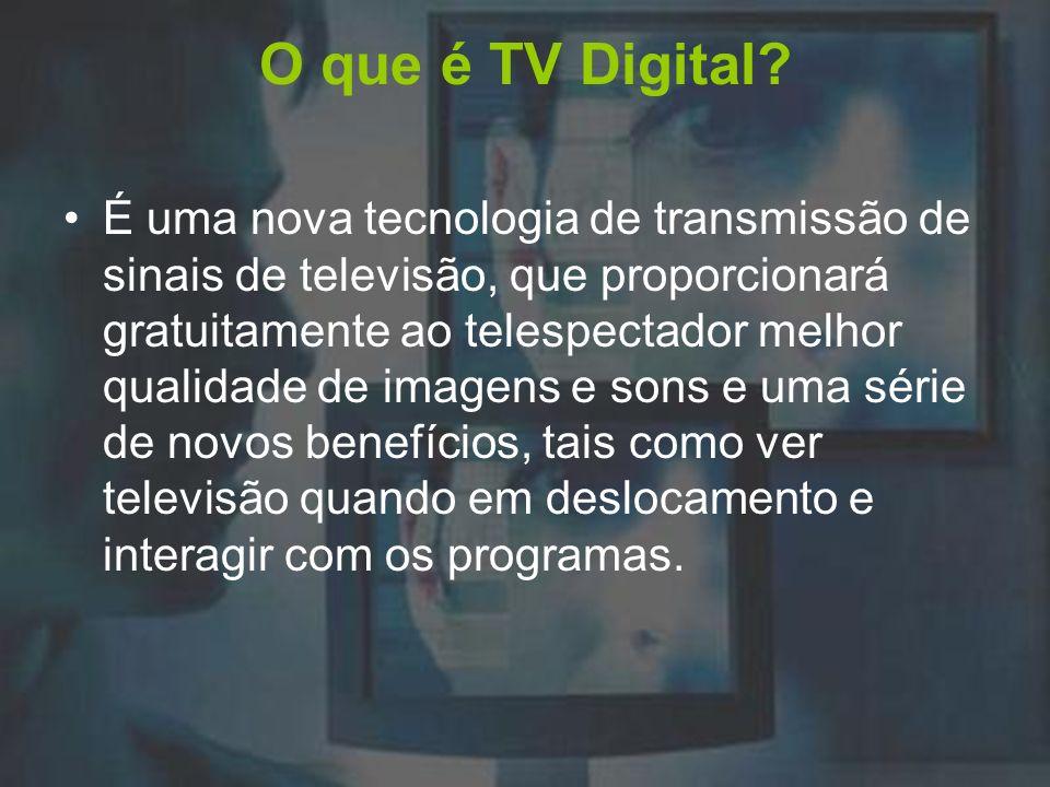 Medição de audiência Com a chegada do novo sistema de transmissão, é necessária também uma nova forma de se medir a audiência televisiva das emissoras.