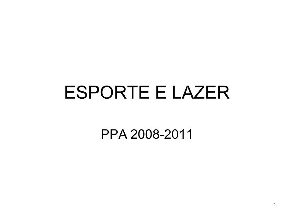 1 ESPORTE E LAZER PPA 2008-2011