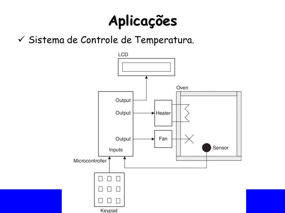 Universidade Federal do Vale do São Francisco - UNIVASF Colegiado de Engenharia da Computação – CECOMP Aplicações Sistema de Controle de Temperatura.