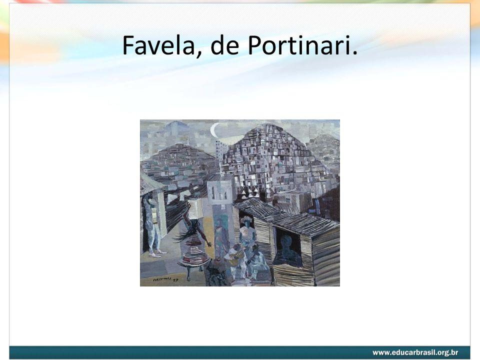 Favela, de Portinari.