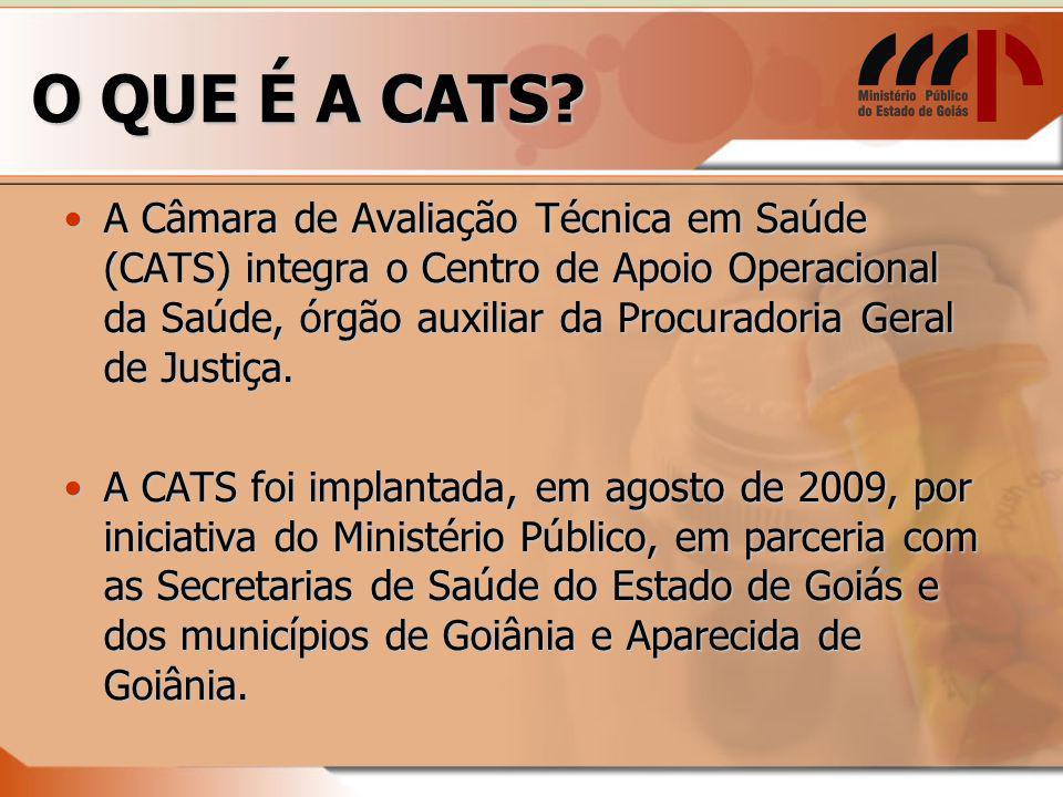 O QUE É A CATS.