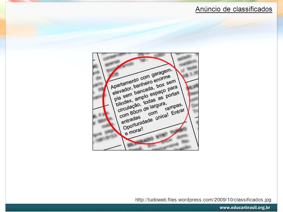http://tudoweb.files.wordpress.com/2009/10/classificados.jpg Anúncio de classificados