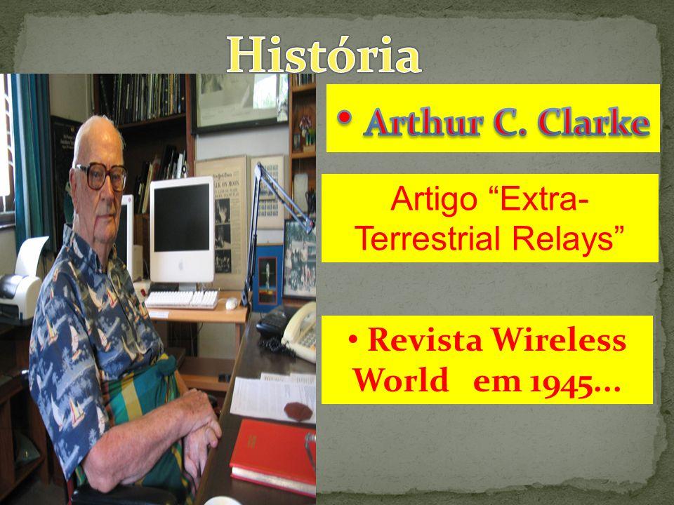 Revista Wireless World em 1945... Artigo Extra- Terrestrial Relays