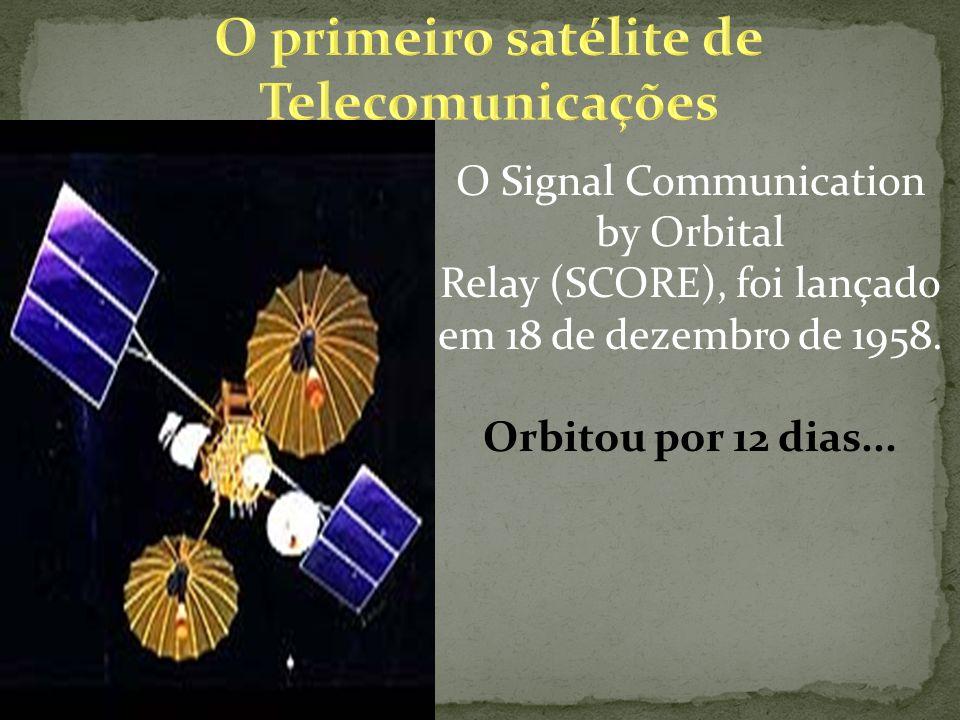 O Signal Communication by Orbital Relay (SCORE), foi lançado em 18 de dezembro de 1958.