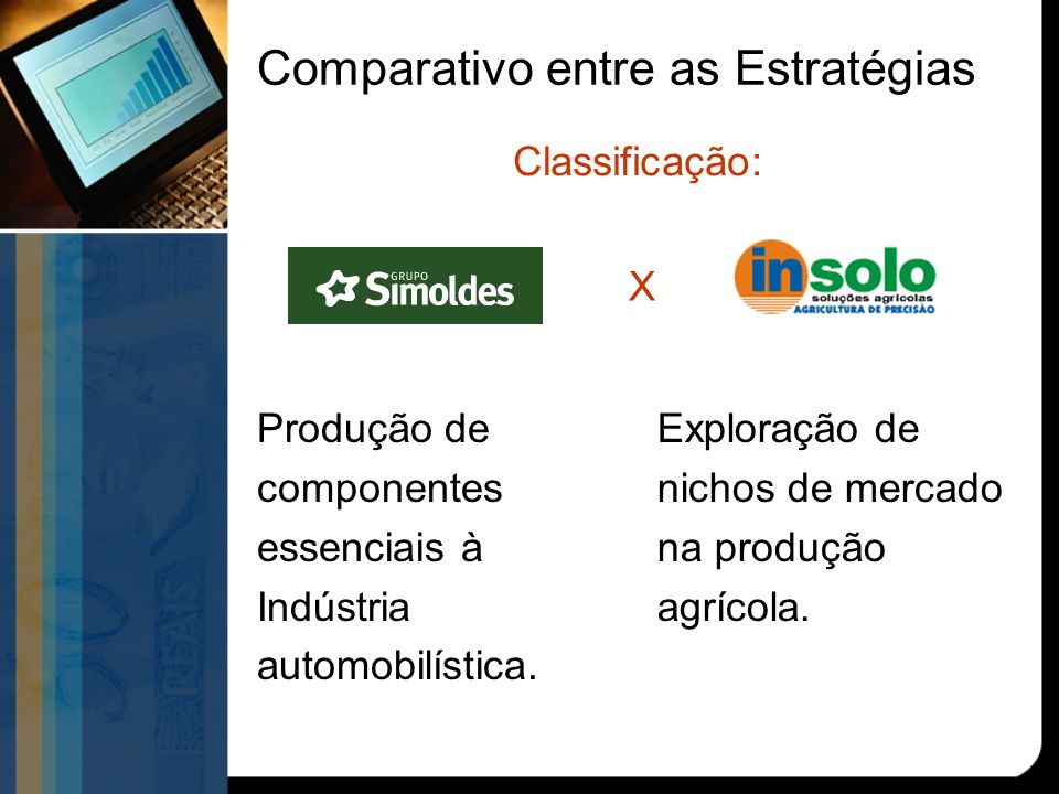 Produção de componentes essenciais à Indústria automobilística.