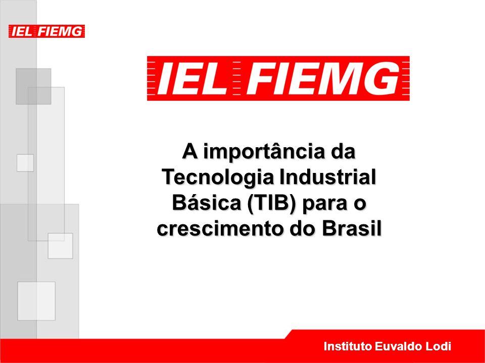 Instituto Euvaldo Lodi A importância da Tecnologia Industrial Básica (TIB) para o crescimento do Brasil Instituto Euvaldo Lodi