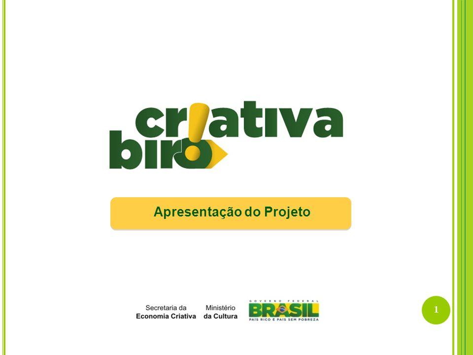 22 REDE CRIATIVA BRASIL – ARTICULAÇÕES ESTADUAIS Criativas Birôs das UFs
