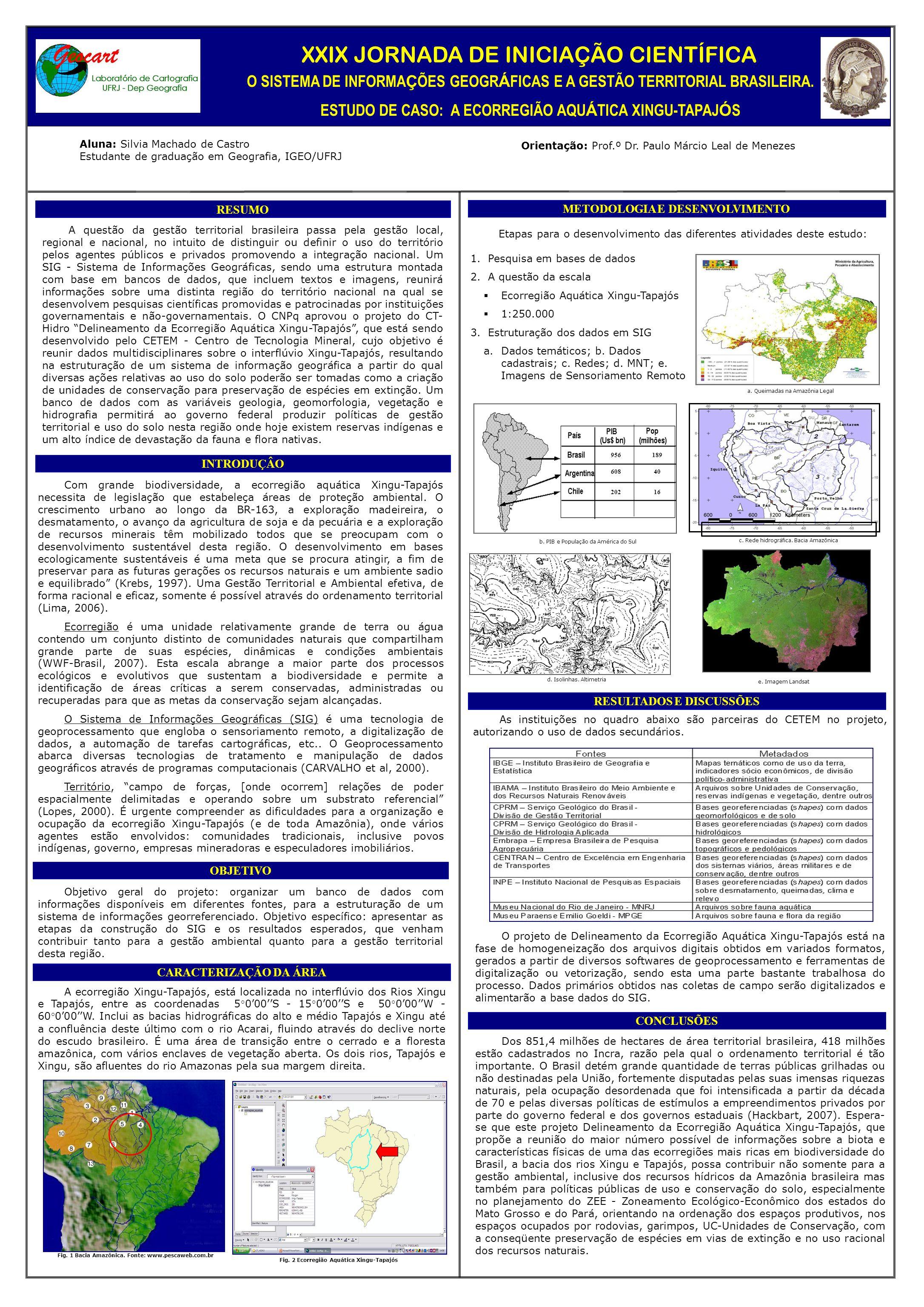 Com grande biodiversidade, a ecorregião aquática Xingu-Tapajós necessita de legislação que estabeleça áreas de proteção ambiental. O crescimento urban