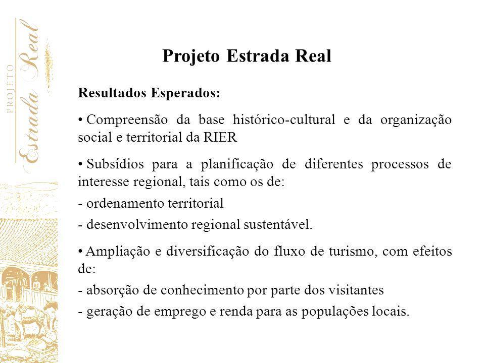 Programação Preliminar Etapas e Fases de Trabalho - Etapa 1: Estruturação e detalhamento do projeto - Etapa 2: Geração, sistematização e consolidação de conhecimento - Etapa 3: Formulação de Plano de Ação - Etapa 4: Implementação do Plano de Ação Projeto Estrada Real