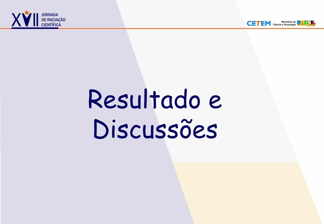 Resultado e Discussões