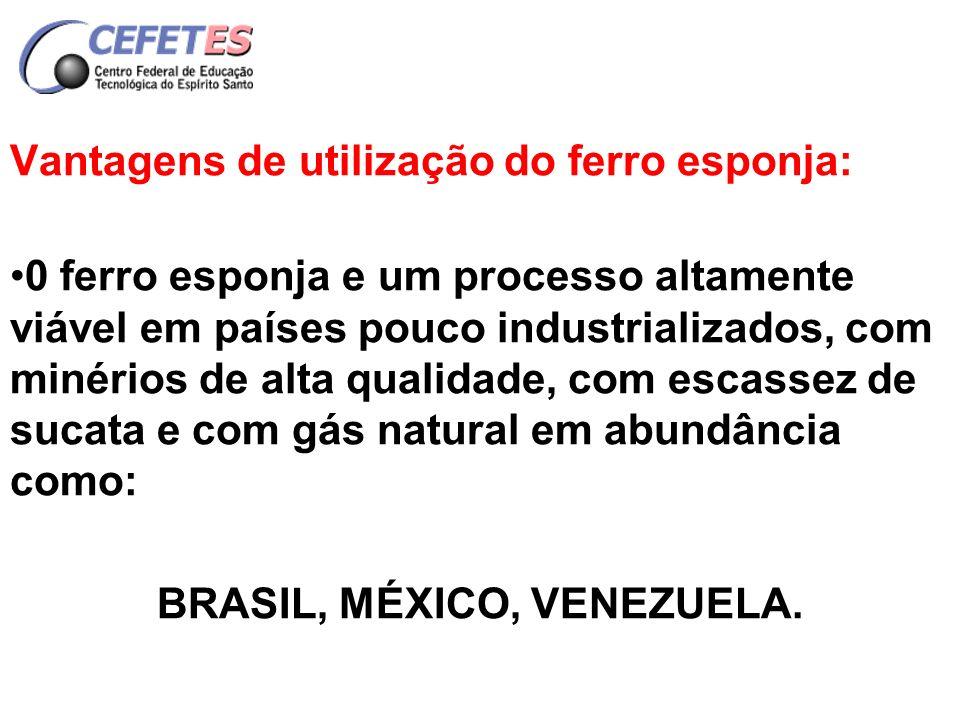 PROCESSO CLÁSSICO DE FABRICAÇÃO DE AÇO Produto intermediário Gusa - 2 a 4,5 %C Necessidade de oxidação para 0,40 a 0,10 %C no mínimo.