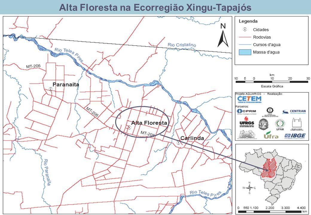 Alta Floresta na Ecorregião Xingu-Tapajós