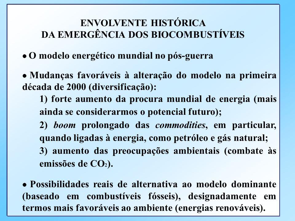 SUMÁRIO 1.Introdução 2. A emergência dos biocombustíveis no contexto das fontes alternativas de energia 3. A matriz energética americana e a posição d