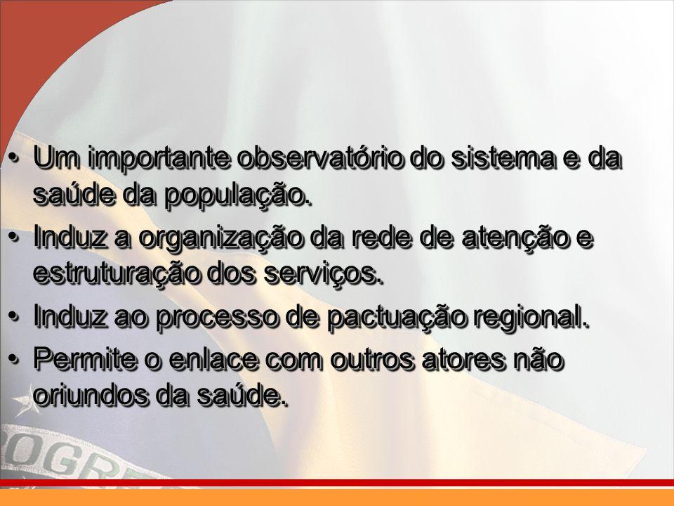 Um importante observatório do sistema e da saúde da população.Um importante observatório do sistema e da saúde da população.