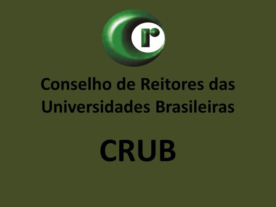 Conselho de Reitores das Universidades Brasileiras CRUB