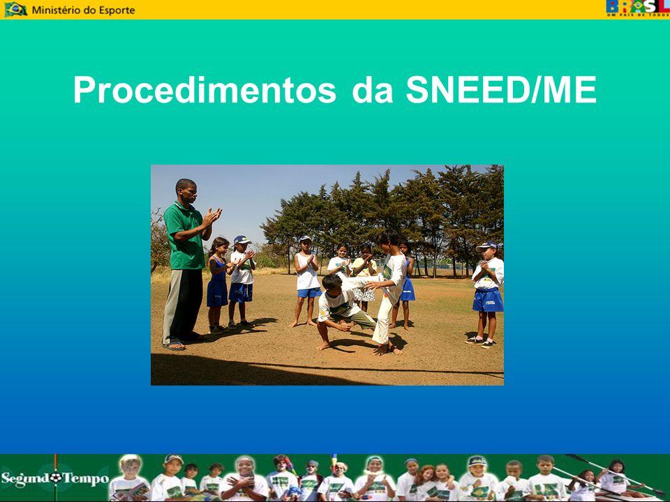 Procedimentos da SNEED/ME