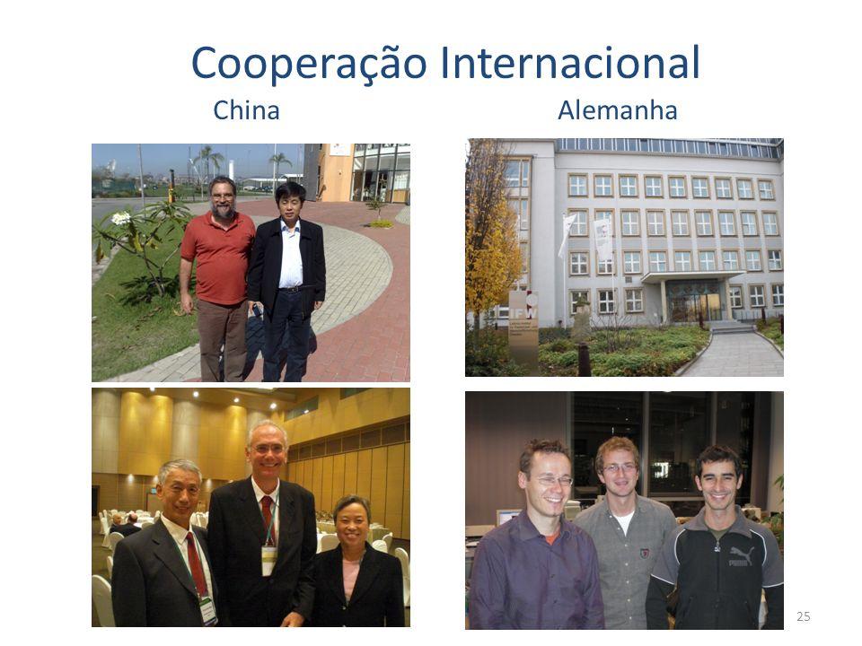 25 Cooperação Internacional ChinaAlemanha