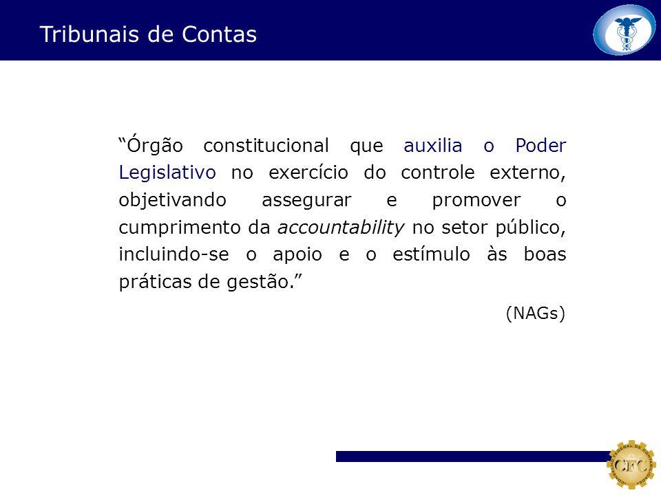 Órgão constitucional que auxilia o Poder Legislativo no exercício do controle externo, objetivando assegurar e promover o cumprimento da accountabilit