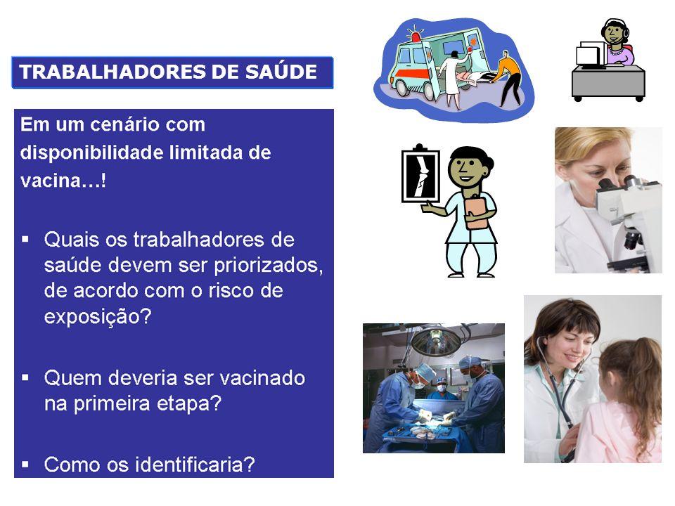 TRABALHADORES DE SAÚDE