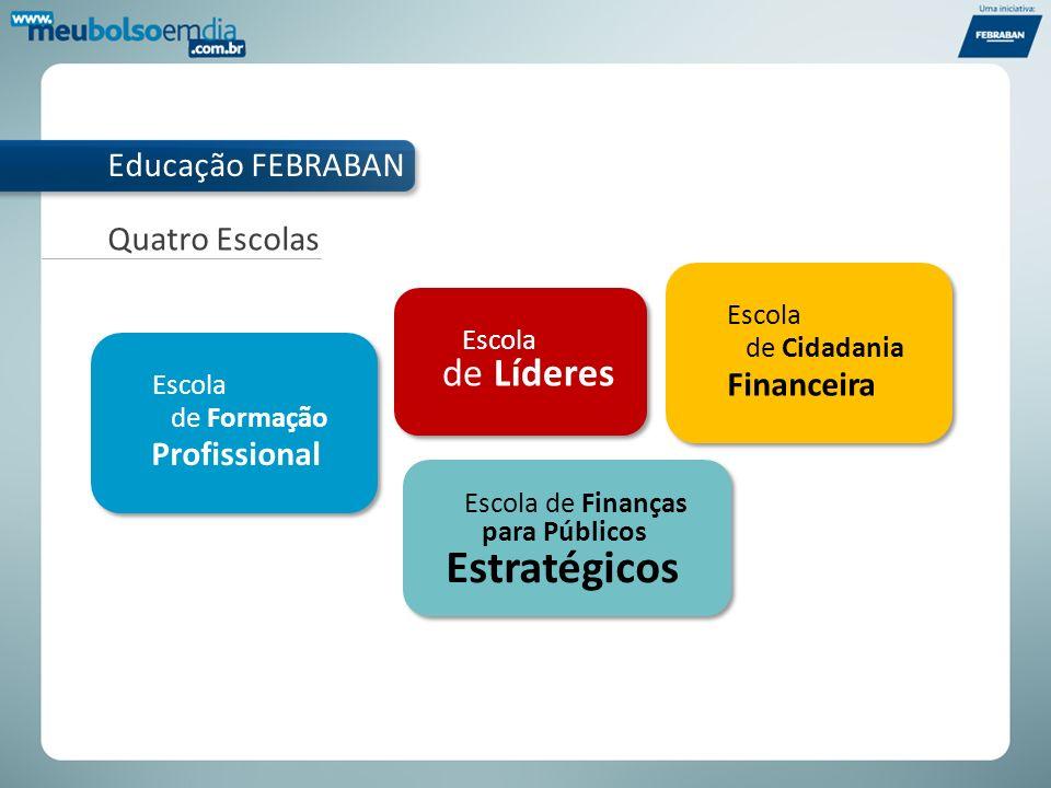 Objetivo: ajudar as famílias brasileiras a terem bem-estar financeiro por meio do uso consciente do dinheiro e dos produtos financeiros.