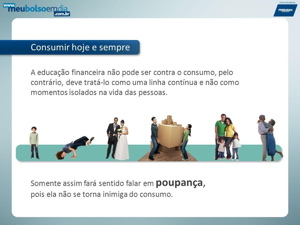 O crédito possibilitou que milhões de brasileiros trouxessem o futuro para o presente.